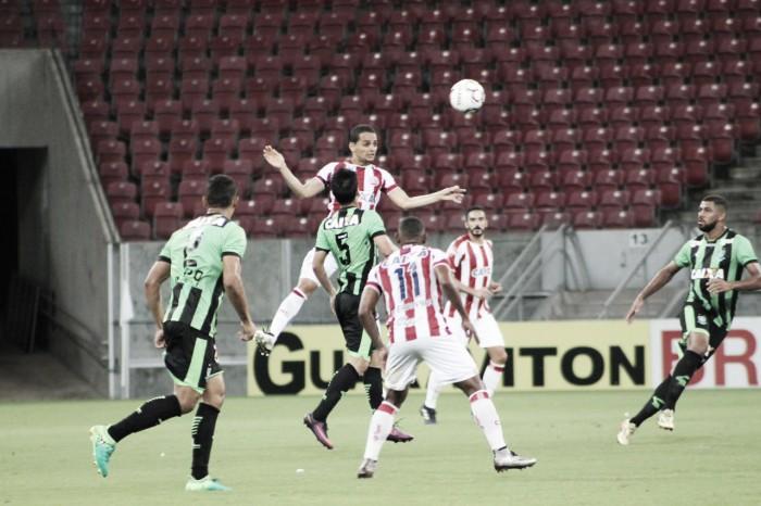 Na estreia da Série B, Náutico e América-MG ficam no empate sem gols