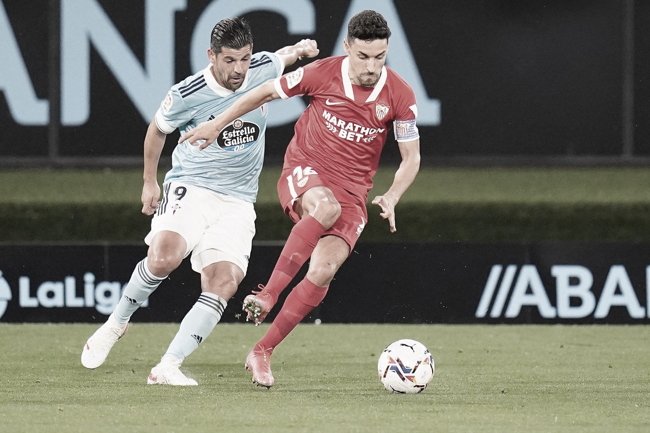 Celta 3 - 4 Sevilla, lluvia de goles en Vigo