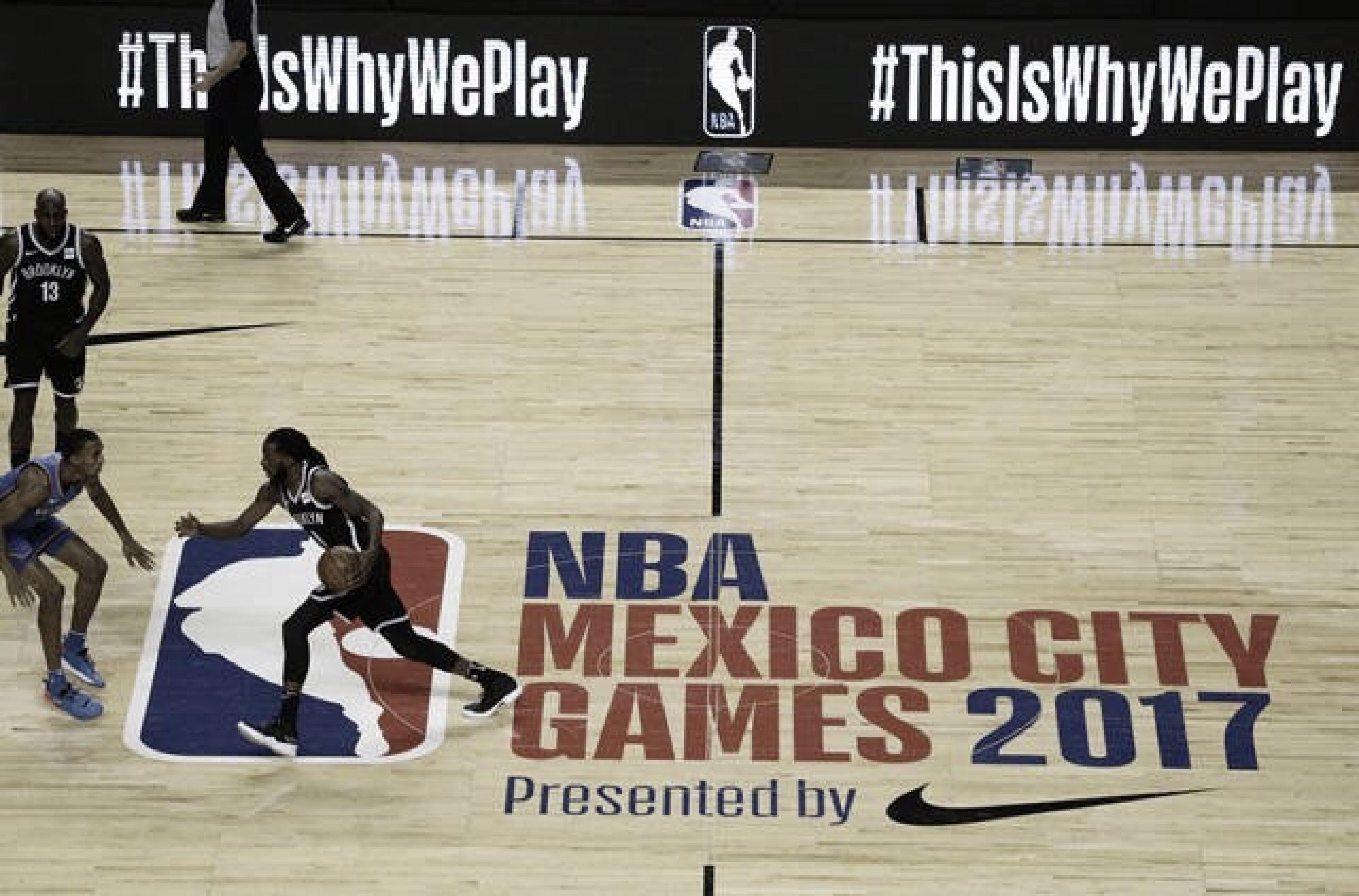 Comienza la venta de boletos para los NBA Mexico City Games 2018