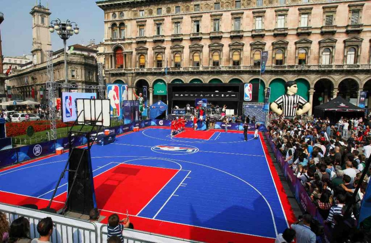 NBA - A Milano torna l'NBA Fan Zone