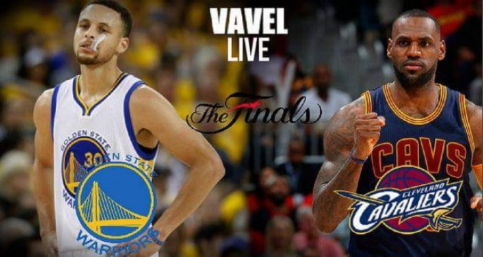 Score Golden State Warriors - Cleveland Cavaliers in 2016 ...