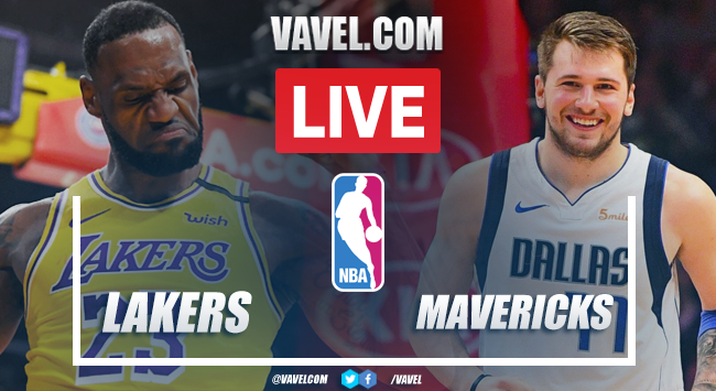 Los Angeles Lakers vs Dallas Mavericks EN VIVO hoy en amistoso NBA (104-108)