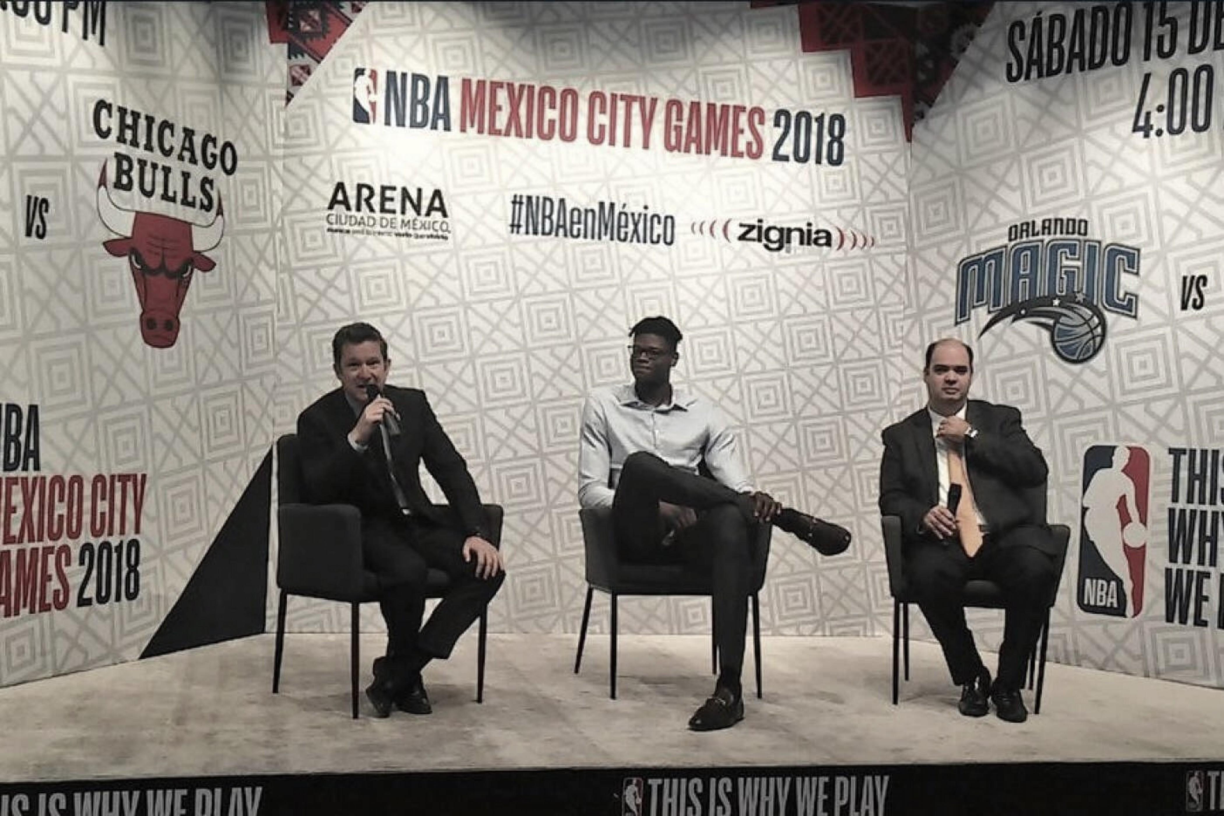 La NBA y México quieren seguir fortaleciendo su relación