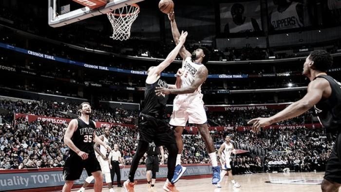 Los Clippers pasaron por arriba a los Suns