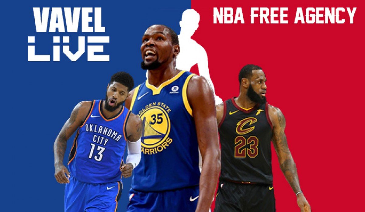 NBA Free Agency Live Tracker: Live updates, signings, trades, and more