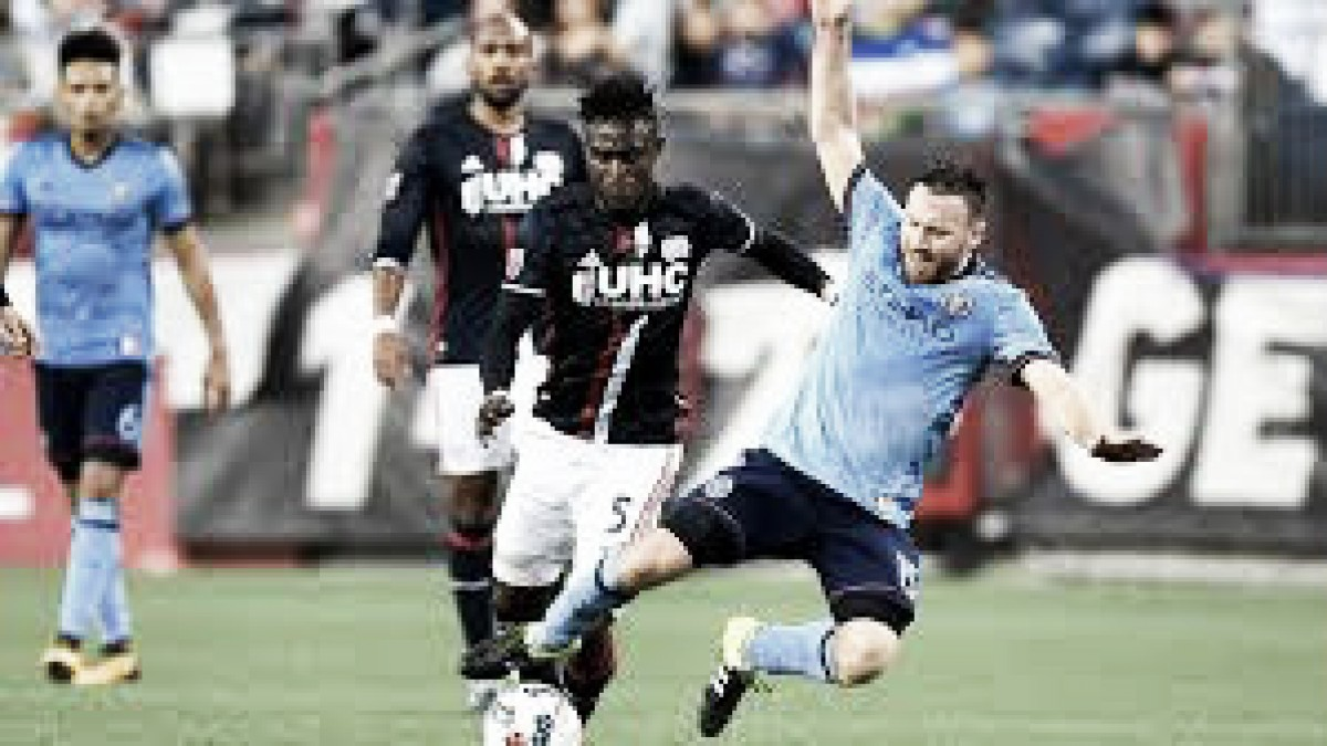 Result: New England Revolution 2-2 New York City FC in 2018 Major League Soccer