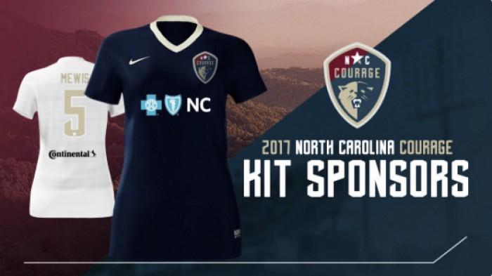 North Carolina Courage announce 2017 kit sponsors