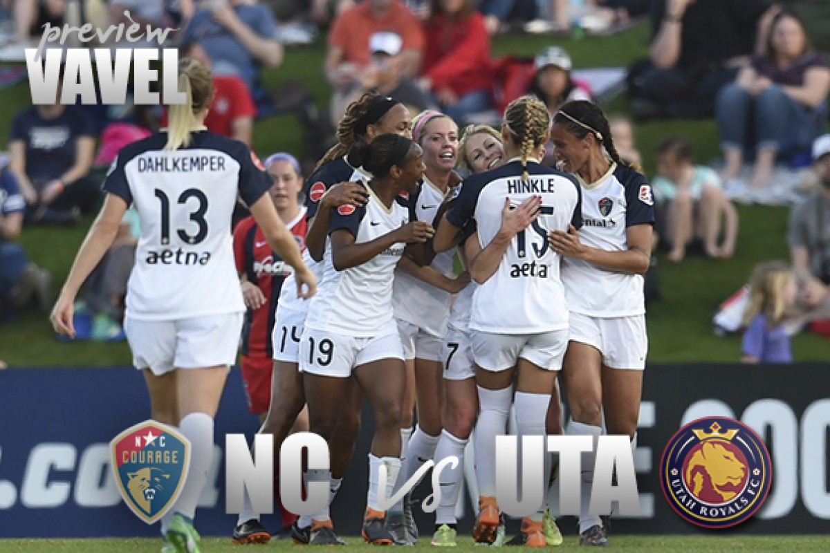 North Carolina Courage vs. Utah Royals FC preview: Courage look to stay hot while Royals look for first win