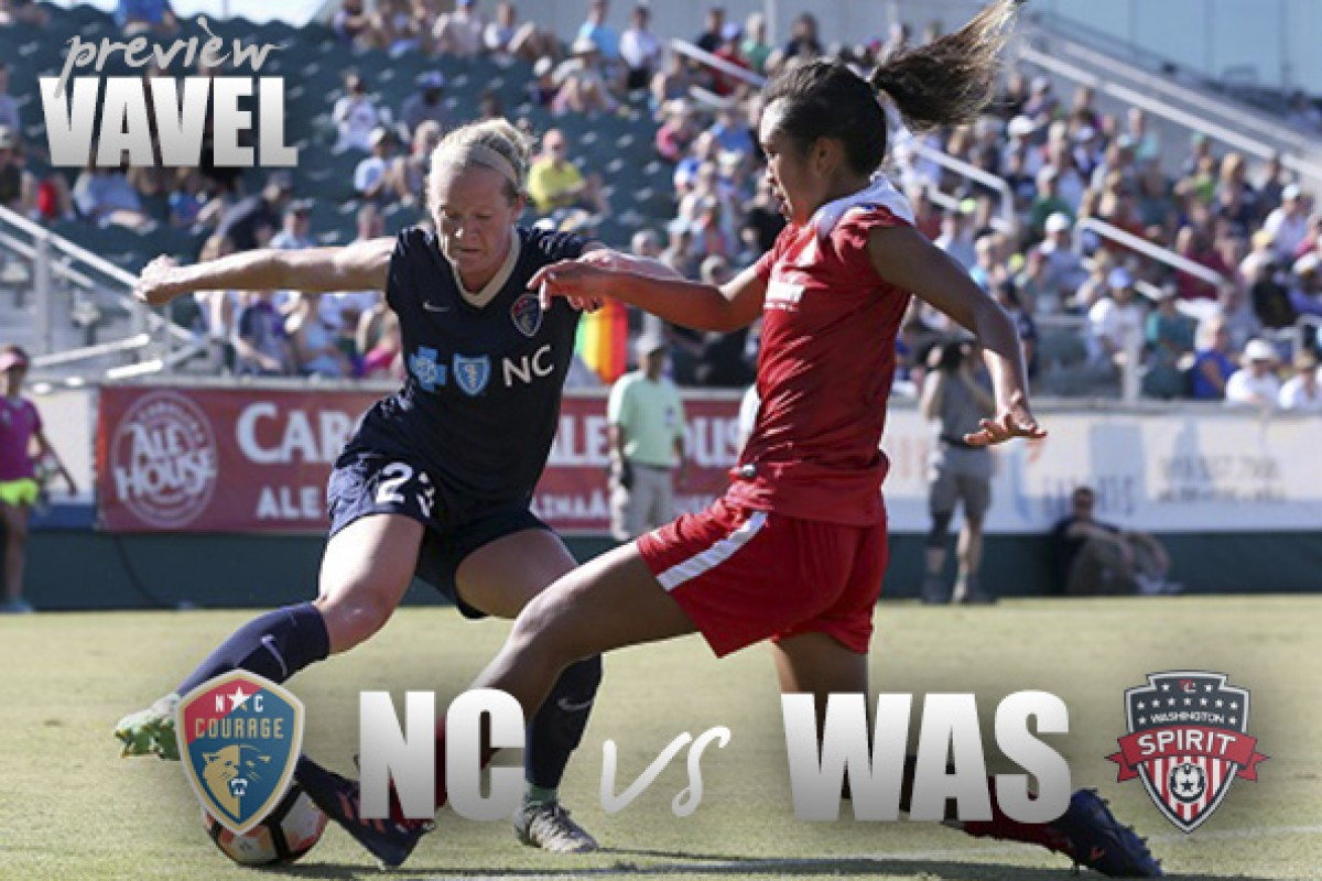 North Carolina Courage vs. Washington Spirit preview: First-place Courage look to continue unbeaten season