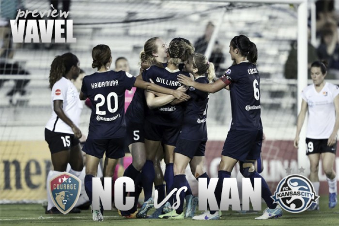 North Carolina Courage vs FC Kansas City Preview: Two strong teams meet for the first time