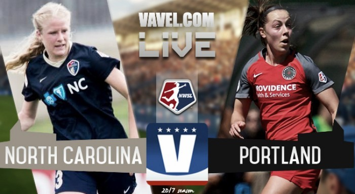 Results and Goals: North Carolina Courage 0-1Portland Thorns in the 2017 NWSL Championship