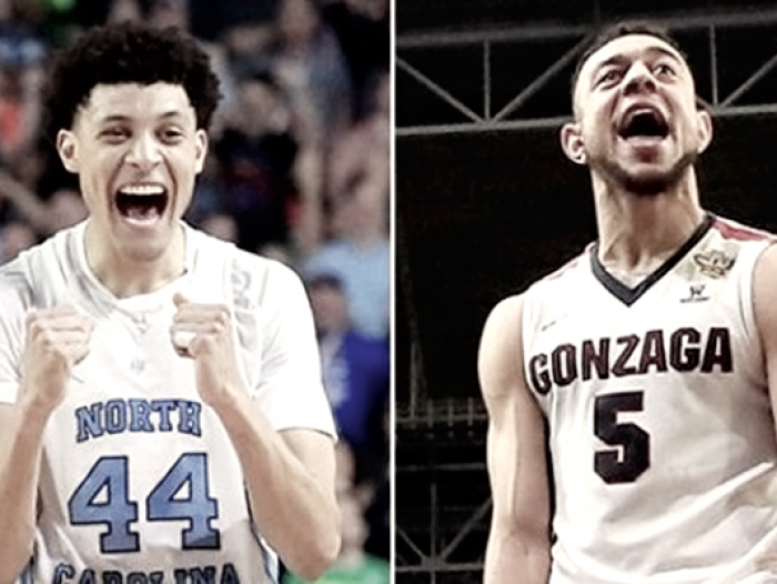 NCAA - Justin Jackson vs Nigel Williams-Goss. A voi...
