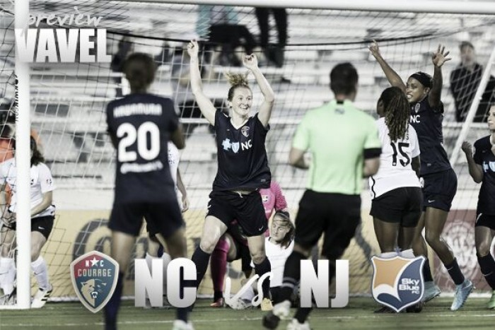 North Carolina Courage vs Sky Blue FC preview: Courage looking to remain on top