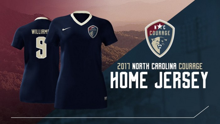 North Carolina Courage release 2017 kits
