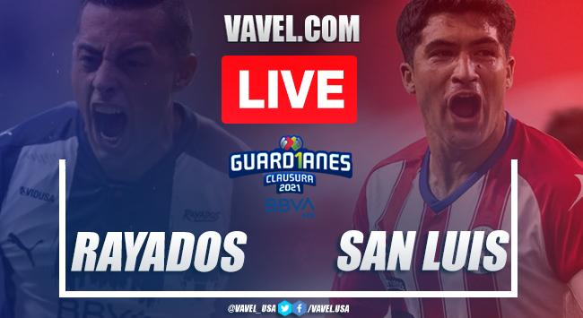 Goals and Highlights Monterrey 2-0 Atletico San Luis, 2021 Liga MX