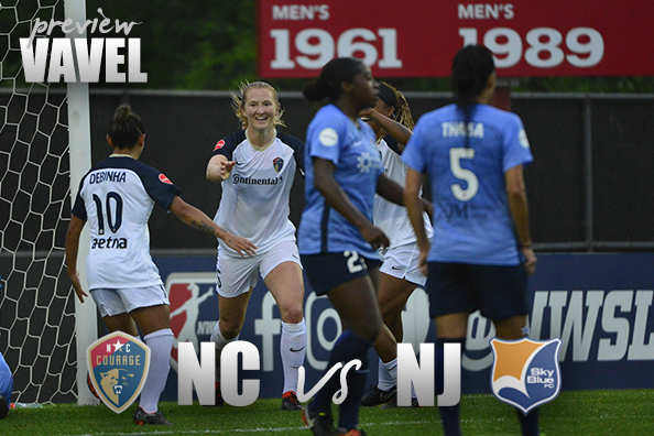 North Carolina Courage vs Sky Blue FC Preview: When Opposites Meet