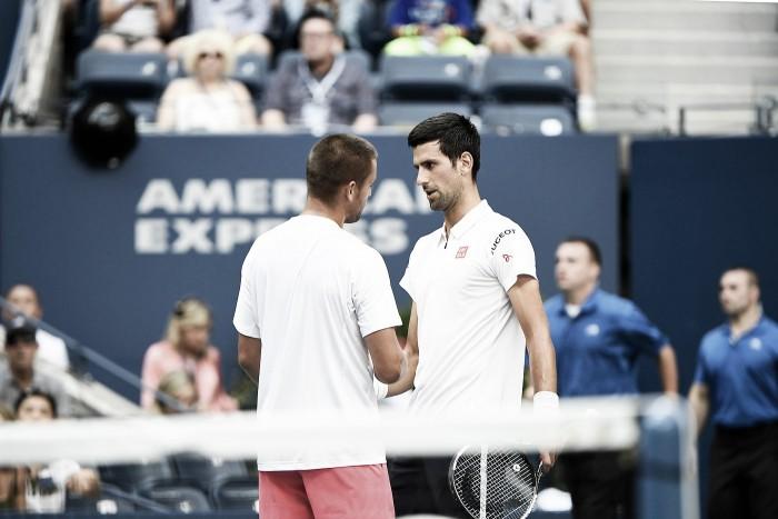 US Open, Djokovic già agli ottavi. Sock fa fuori Cilic, avanzano Tsonga e Monfils