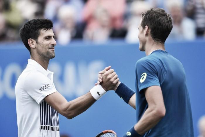 Atp Eastbourne, esordio vincente per Djokovic
