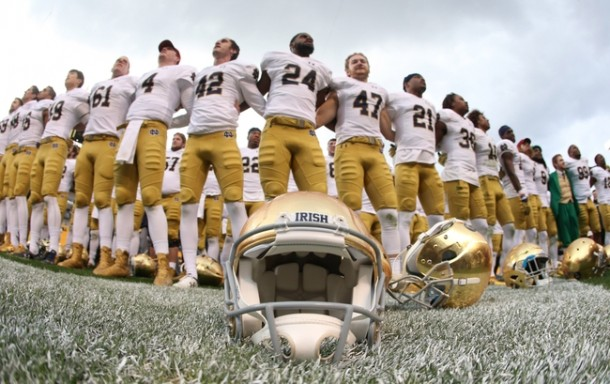 A Look At Notre Dame's Chances Of Making The College Football Playoff