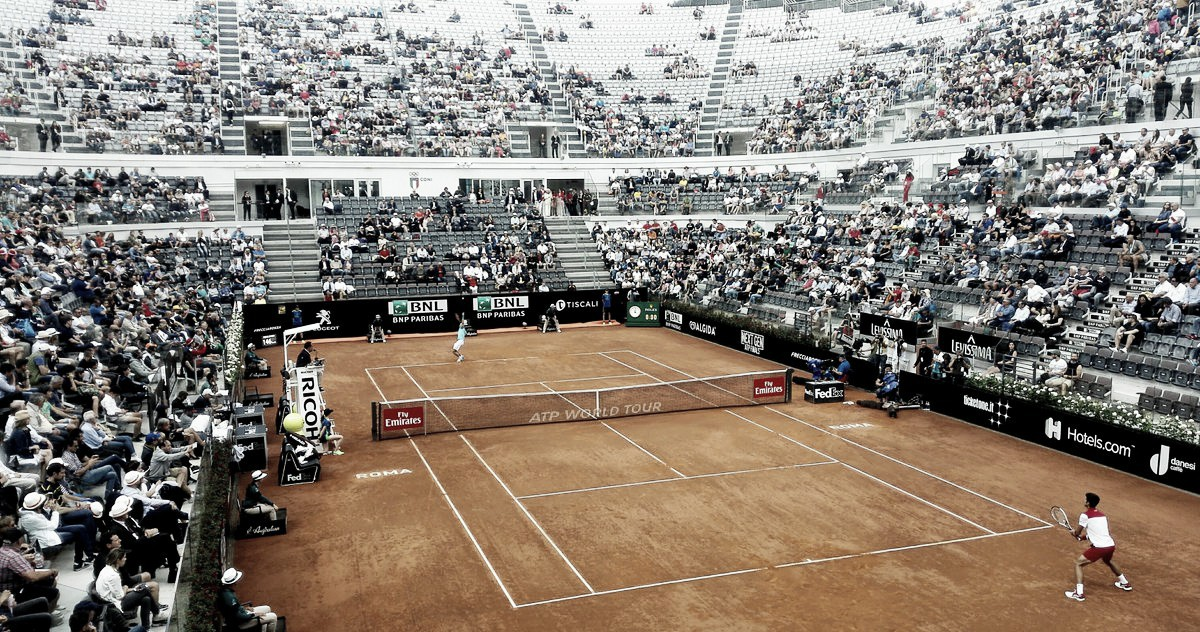 Atp Roma, bene Djokovic e Goffin. Vincono Cecchinato e Berrettini