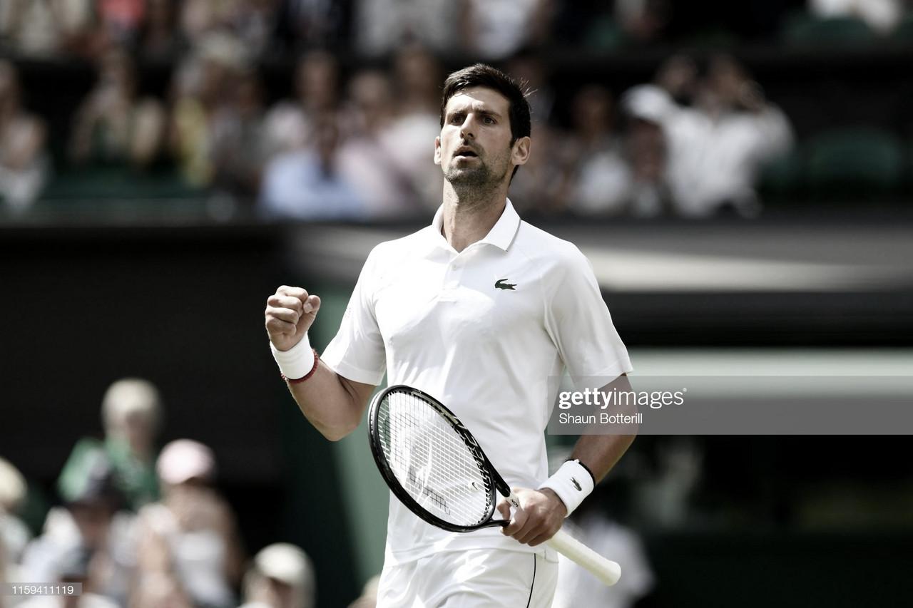 Djokovic comienza con buen pie en Wimbledon
