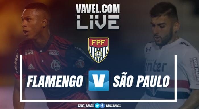 Resultado São Paulo x Flamengo pela final da Copinha 2018 (0-1)