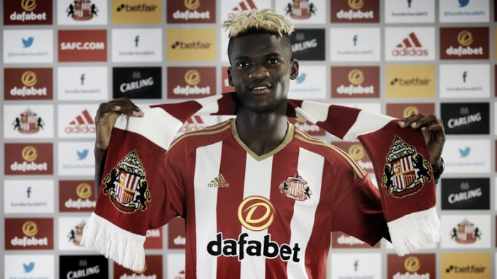 Record signing Didier Ndong is hungry to prove himself in the Premier League