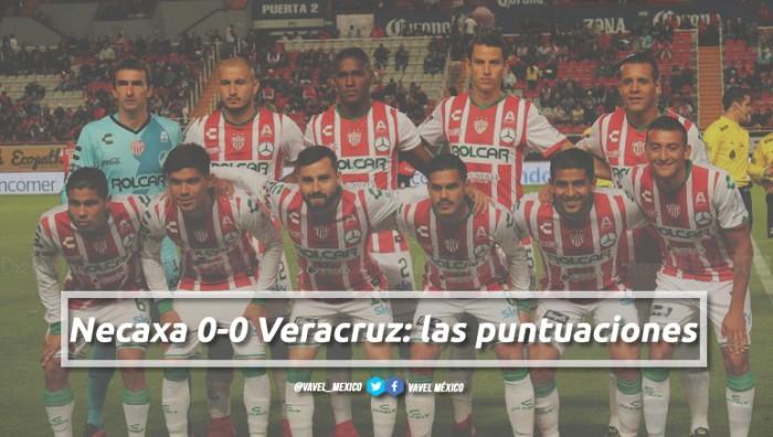 Necaxa 0-0 Veracruz: puntuaciones de Necaxa en la jornada 1 de la Liga MX Clausura 2018