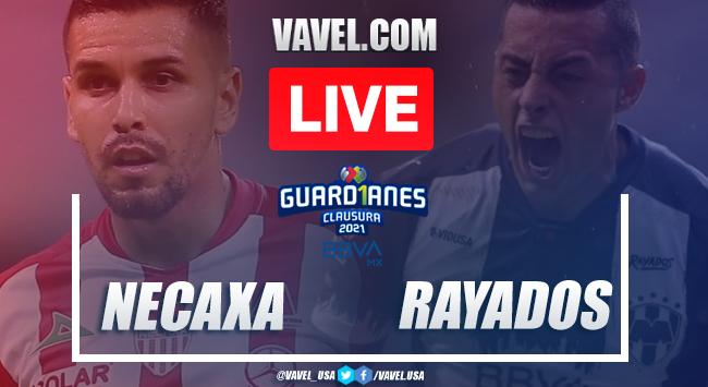 Goals and Highlights of Necaxa 1-1 Rayados Monterrey on Liga MX 2021