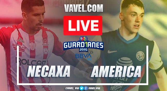 Goals and Highlights: Necaxa 1-1 América, 2020 Liga MX