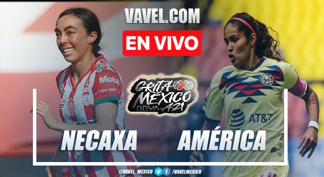 Goles y resumen del Necaxa femenil 0-2 América femenil en Liga MX Femenil