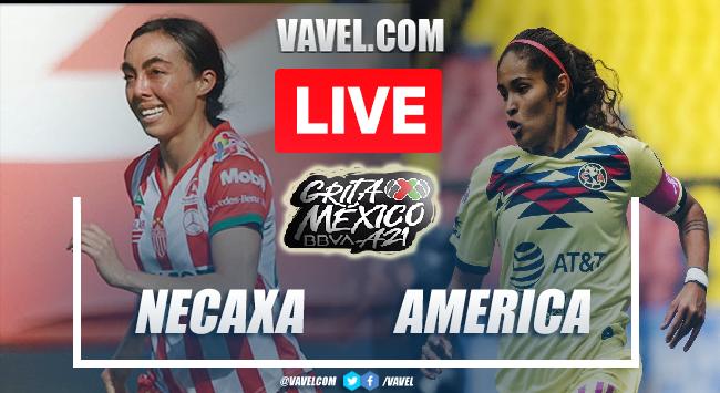 Goals and Highlights Necaxa femenil 0-2 America femenil in Liga MX Femenil