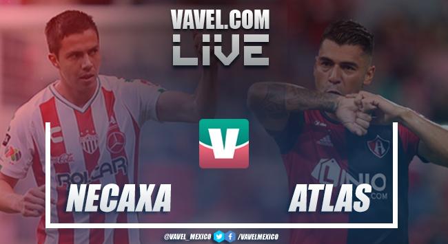 Resultado y goles del Necaxa 2-2 Atlas en Liga MX 2018