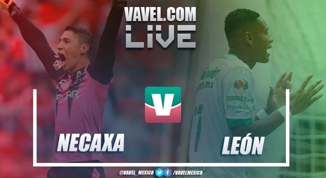 Resultado y goles del Necaxa 0-2 León en Liga MX 2018