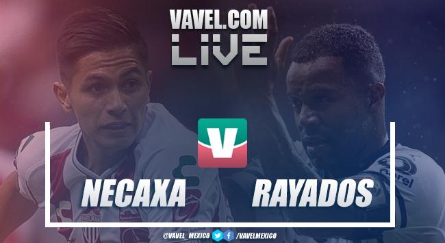 Resumen y goles del Necaxa 1-1 Monterrey en Liga MX 2018