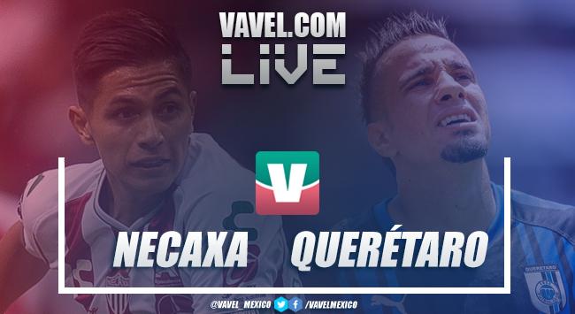 Resultado y goles Necaxa vs Querétaro en Liga MX (1-0)