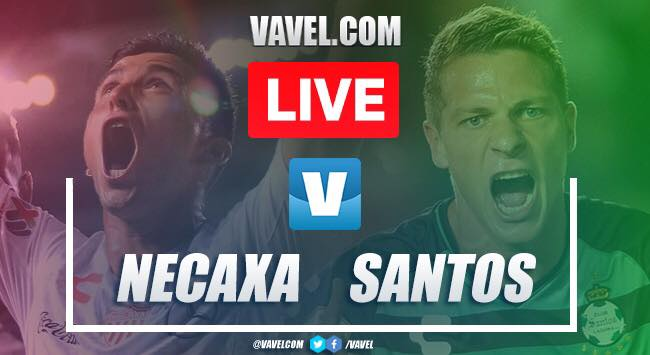 Necaxa vs Santos Laguna: LIVE Stream TV and Score Updates (2-0)
