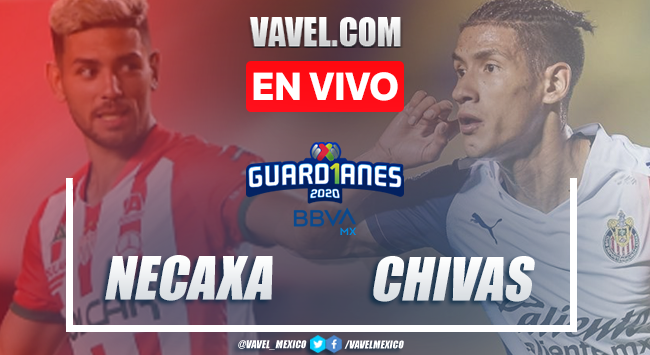 Goles y Resumen: Necaxa 1-2 Chivas en Liga MX