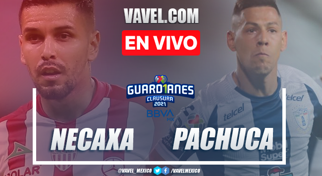 Goles y resumen: Necaxa 2-2 Pachuca en Liga MX 2021