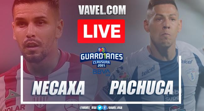 Goals and Highlights: Necaxa 2-2 Pachuca on Liga MX 2021