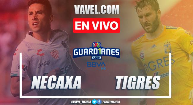 Necaxa 0-3 Tigres: goles y resumen Liga MX 2020