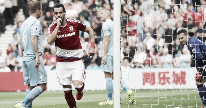 Middlesbrough player ratings v Stoke City