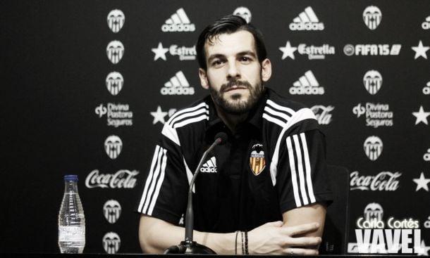 "Negredo: ""Ojalá llevemos al Valencia a Europa"""
