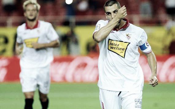 """El Sevilla hunde al Mallorca con una """"manita"""""""