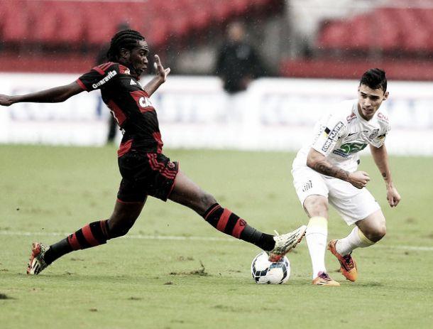 Flamengo é superior, mas apenas empata com o Santos no Morumbi