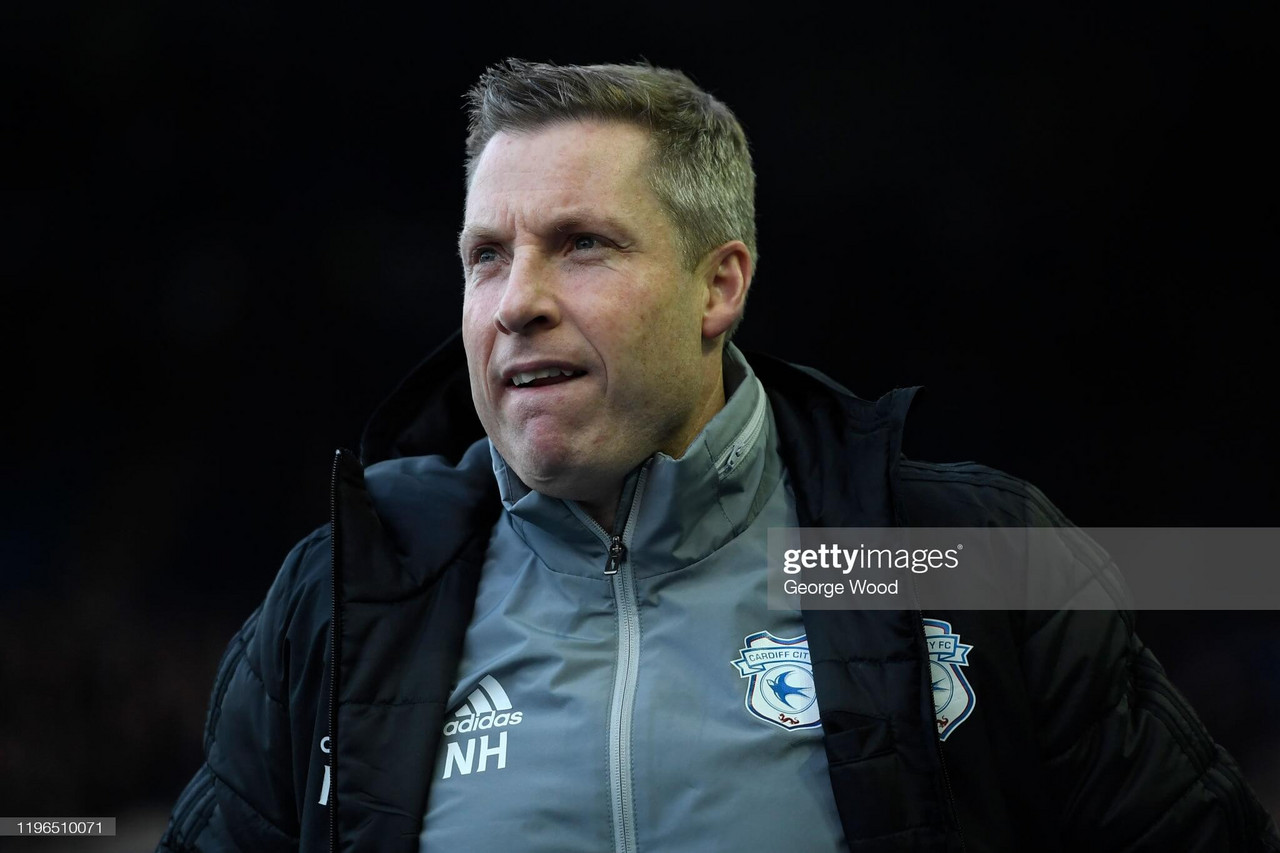 Neil Harris departs Cardiff City