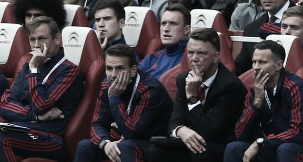 Arsenal defeat could signal start of tricky period for Louis Van Gaal