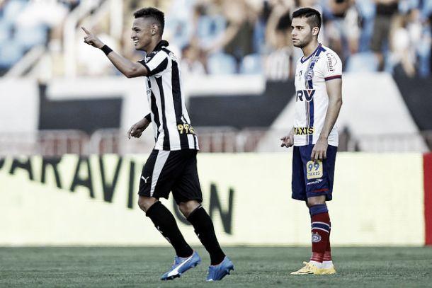 Botafogo bate Bahia pelo placar mínimo e se aproxima do retorno à série A