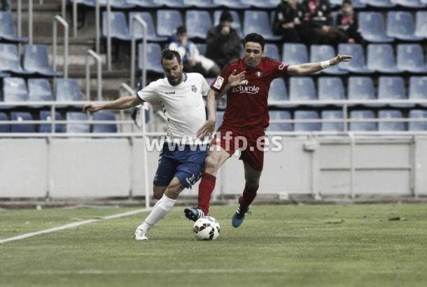 Tenerife - Osasuna: puntuaciones de Osasuna, jornada 31 de la Liga Adelante