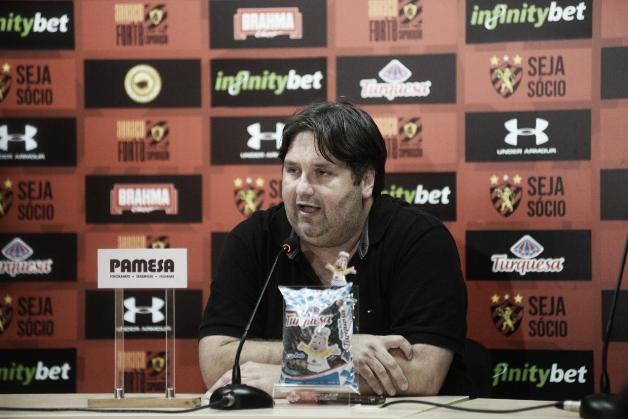 Nelo Campos diz que a decisão de não adiar a partida entre Operário e Sport foi do árbitro